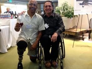 My good friend Dan Metivier @ the Kelly Brush Foundation Fundraiser. NERD Center, Boston MA.